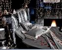 Спальня CHIC total black - итальянская мебель для спальни