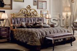 Стандартная прямоугольная кровать (Art. Vip100+Vip10L) - Borghese