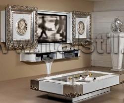 Стойка для ТВ с раздвижными створками Vismara BAROQUE